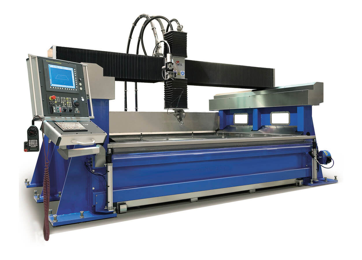 Waterjet cutter for urethane